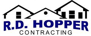 RD Hopper Contracting Logo Design