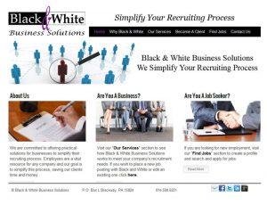 Website Design Black n White Business Solutions