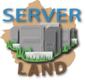 Server Land Logo Design
