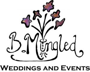 Bmingled wedding and events logo design in clarion pa