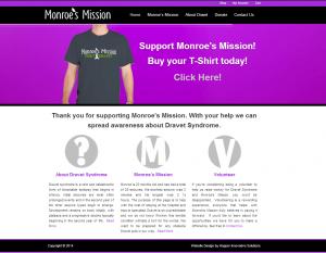 Monroe's Mission Website Design eCommerce