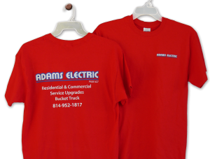 Adams Electric Custom Apparel New Bethlehem