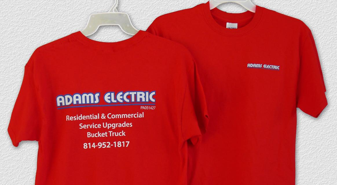 Adams-Shirt