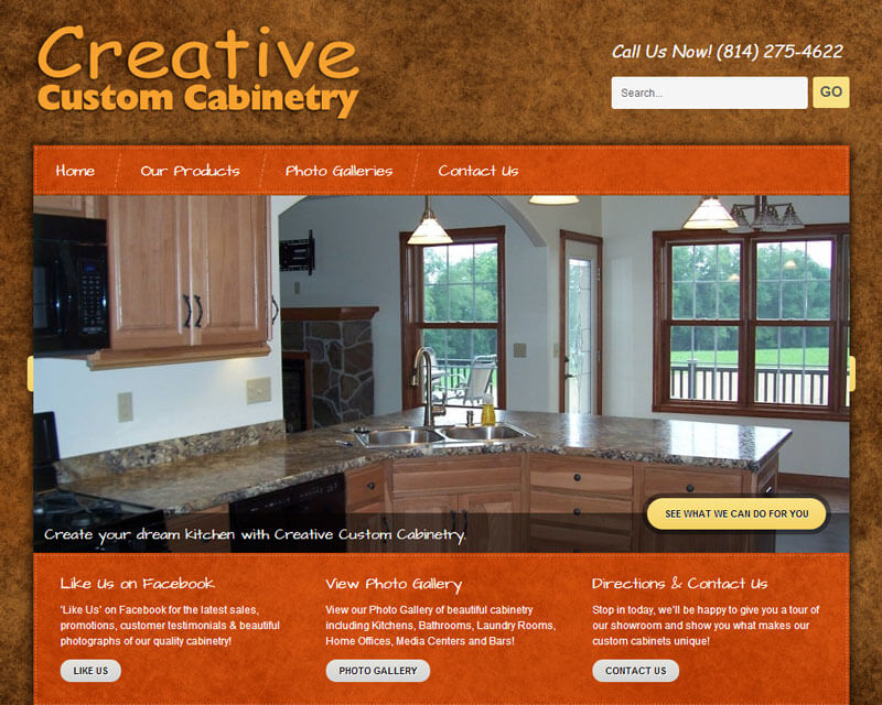 ClarionCreativeCustomCabinetry