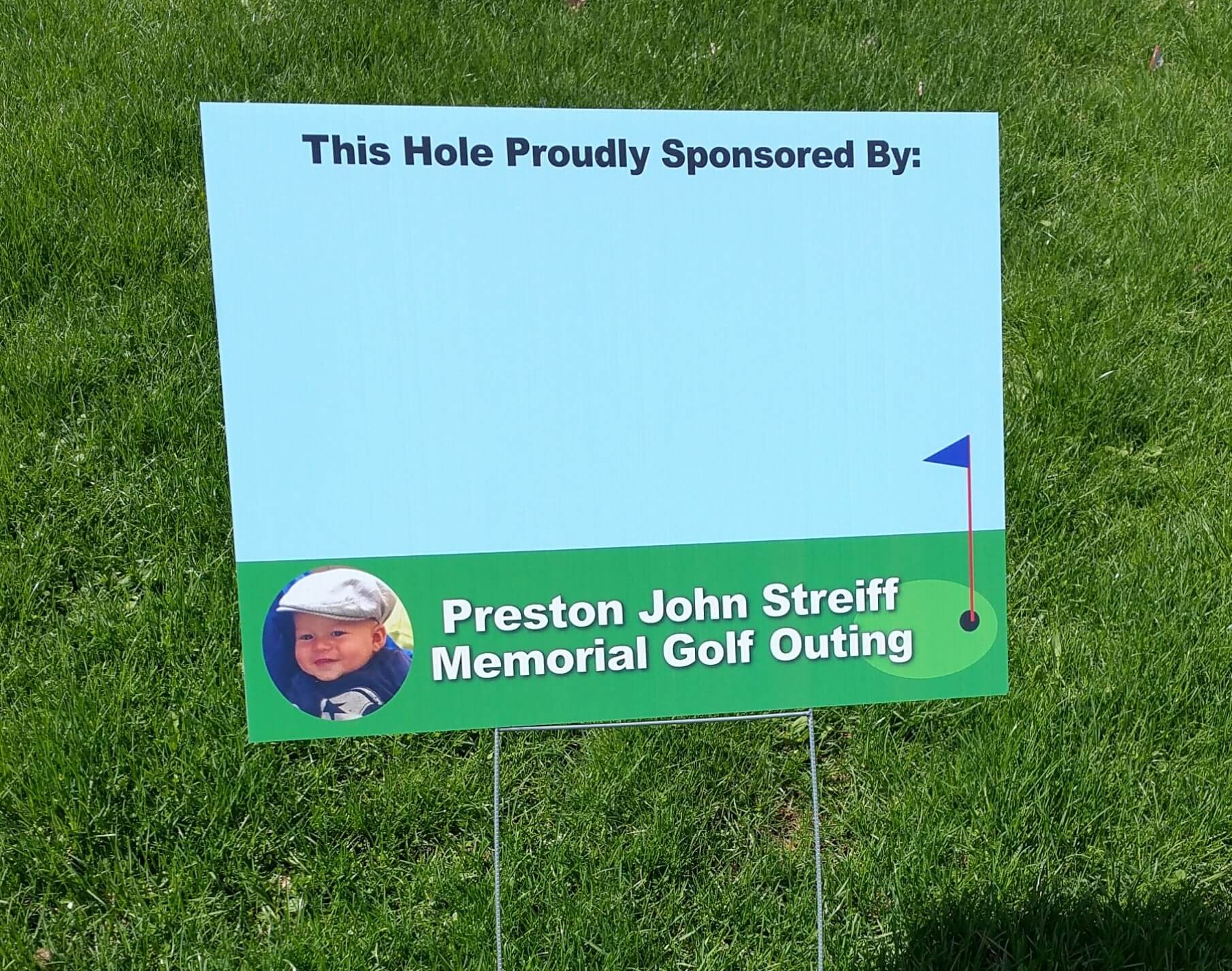 Preston John Streiff Golf Outing