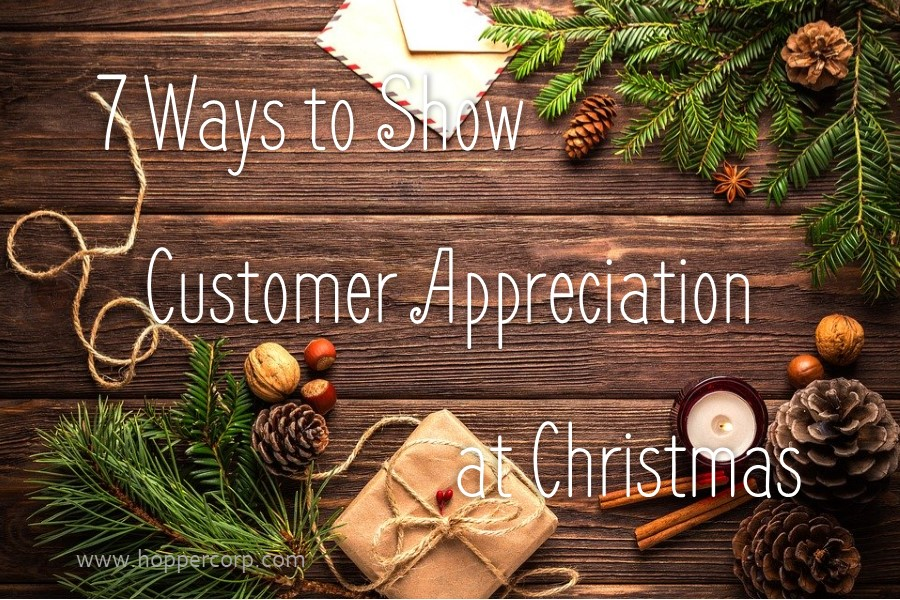 7 ways to show customer appreciation at christmas