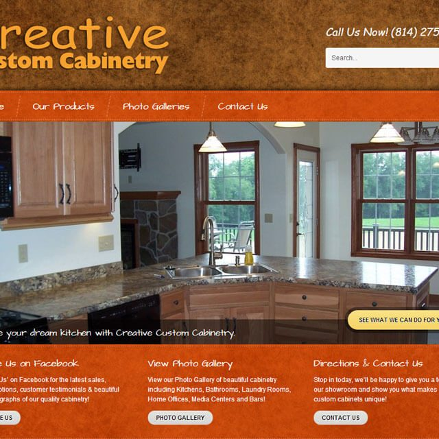 Cabinetry Website between Clarion Kittanning near New Bethlehem