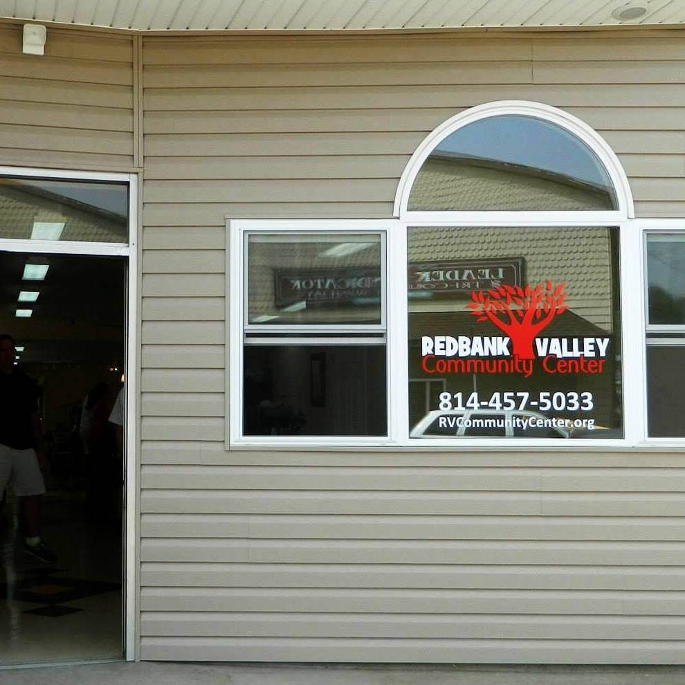 RV Community Center Window Vinyl